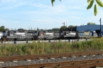NS 5222, 5221, 5221; CSX 4429